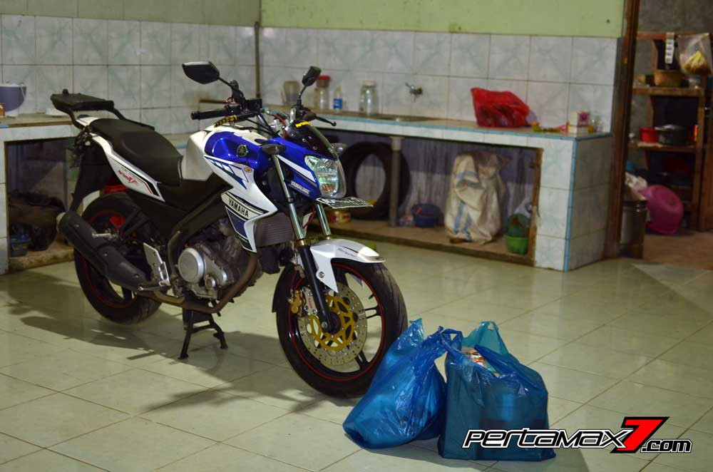 Pasang Headlamp Yamaha New Vixion Advance di Vixion lightning, Gampang bikin ganteng 01 Pertamax7.com