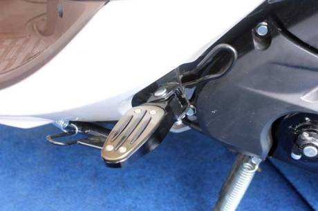 RR Foot Rest Set Aksesoris Yamaha Fino 125 Blue core 04 Pertamax7.com