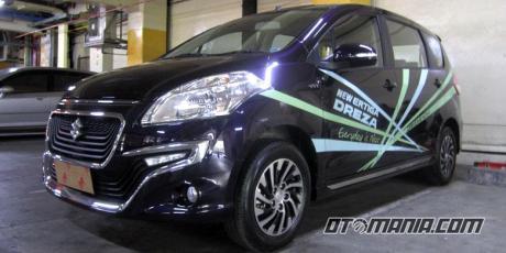 Suzuki ERTIGA varian Tertinggi Meluncur berlabel DREZA, pakai Rem ABS dan EBD 04 Pertamax7.com