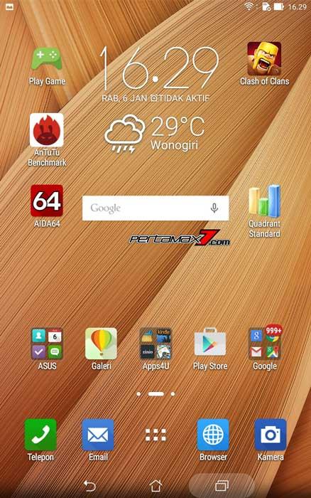 tampilan ZEN UI Asus ZenPad 7.001 Pertamax7.com