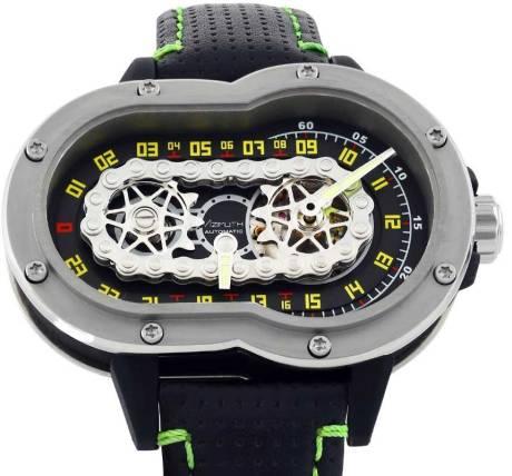 Uniknya Jam Tangan Azimuth SP-1 Crazy Rider Watch Pakai rantai Buat Penunjuk Waktu, Petrolhead Demen nih 03 Pertamax7.com