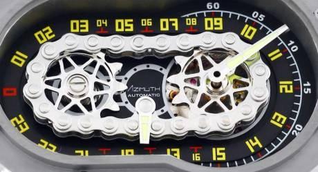 Uniknya Jam Tangan Azimuth SP-1 Crazy Rider Watch Pakai rantai Buat Penunjuk Waktu, Petrolhead Demen nih 04 Pertamax7.com