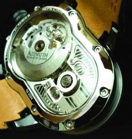 Uniknya Jam Tangan Azimuth SP-1 Crazy Rider Watch Pakai rantai Buat Penunjuk Waktu, Petrolhead Demen nih 05 Pertamax7.com