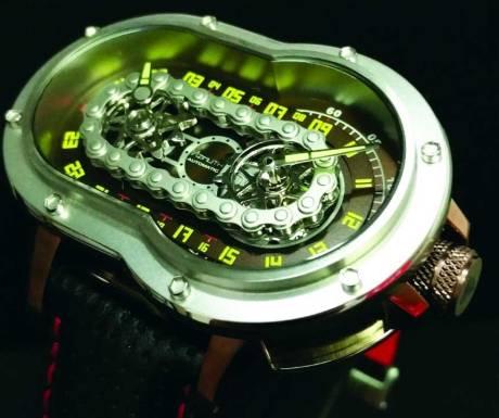 Uniknya Jam Tangan Azimuth SP-1 Crazy Rider Watch Pakai rantai Buat Penunjuk Waktu, Petrolhead Demen nih 06 Pertamax7.com