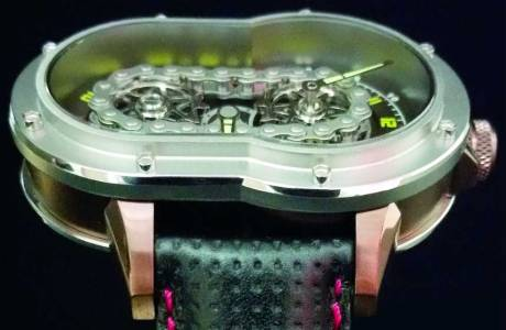 Uniknya Jam Tangan Azimuth SP-1 Crazy Rider Watch Pakai rantai Buat Penunjuk Waktu, Petrolhead Demen nih 07 Pertamax7.com