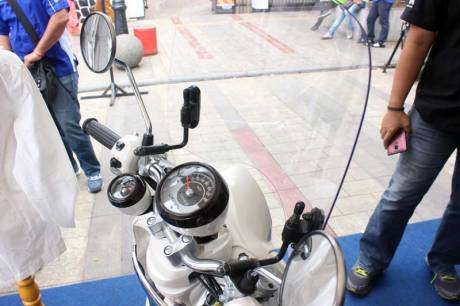 Wind Screen Aksesoris Yamaha Fino 125 Blue core 09 Pertamax7.com