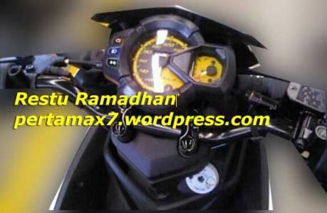 Yamaha-Aerox-125-pakai-Speedometer-Yamaha-X-Ride,-Belum-Blue-Core-tanpa-ECO-Indikator-pertamax7.com-