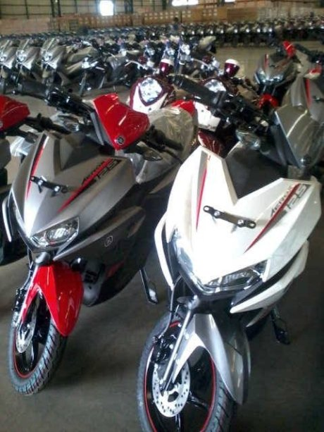 Yamaha Aerox itu X-Ride 125 pertamax7.com