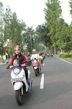 Yamaha Indonesia Ajak Media Dan Komunitas City Touring Fashionable New Fino 125 Blue Core Semarakkan Bandung 09 Pertamax7.com