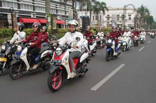 Yamaha Indonesia Ajak Media Dan Komunitas City Touring Fashionable New Fino 125 Blue Core Semarakkan Bandung 10 Pertamax7.com