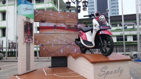 Yamaha New Fino Actif Rouge Pertamax7.com