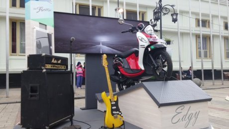 Yamaha New Fino Sportif Noir Pertamax7.com