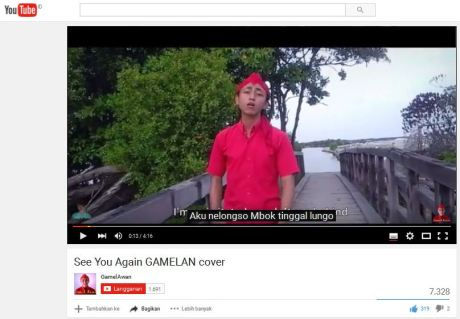 Lagu See You Again Wiz Khalifa feat Charlie Puth Versi Jowo Aku Nelongso pertamax7.com