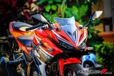 All New Honda CBR150R 2016 Warna Merah Racing Red 66 Pertamax7.com