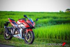 All New Honda CBR150R 2016 Warna Merah Racing Red 67 Pertamax7.com