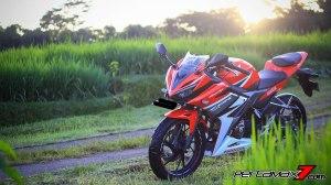 All New Honda CBR150R 2016 Warna Merah Racing Red 74Pertamax7.com