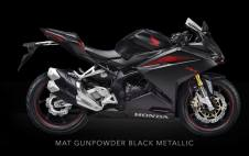 All New Honda CBR250RR Mat Gunpowder Black Metallic Pertamax7.com