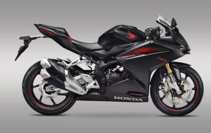 All new honda CBR250RR twin cylinder 2016 warna Mate Gunpowder Metallic pertamax7.com