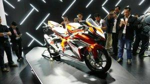 Saming kanan All New Honda CBR250RR Merah 8Pertamax7.com