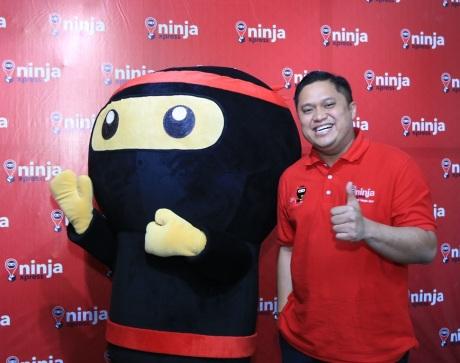 Ryo Ninja dan Indra Wiralaksmana, Country Head Ninja Xpress